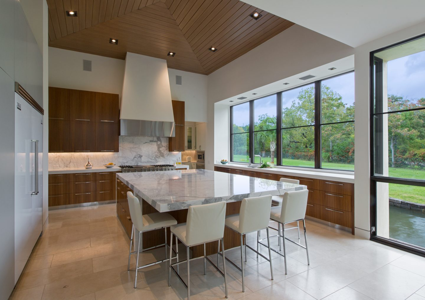 Lake Austin Residence Kitchen